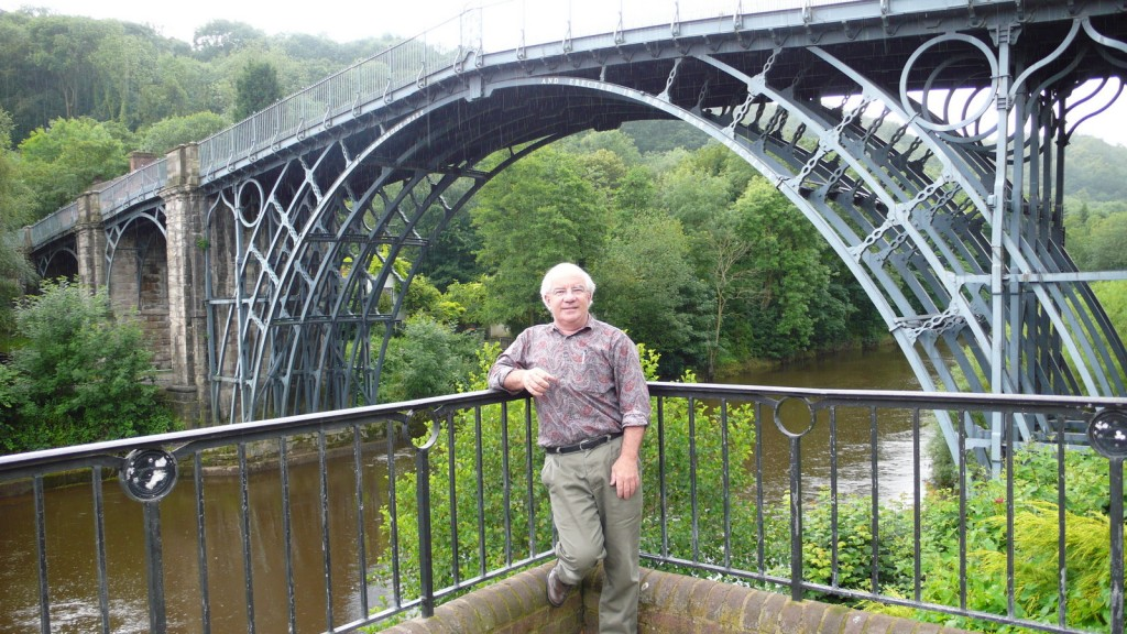At Ironbridge - cradle of the steel industry