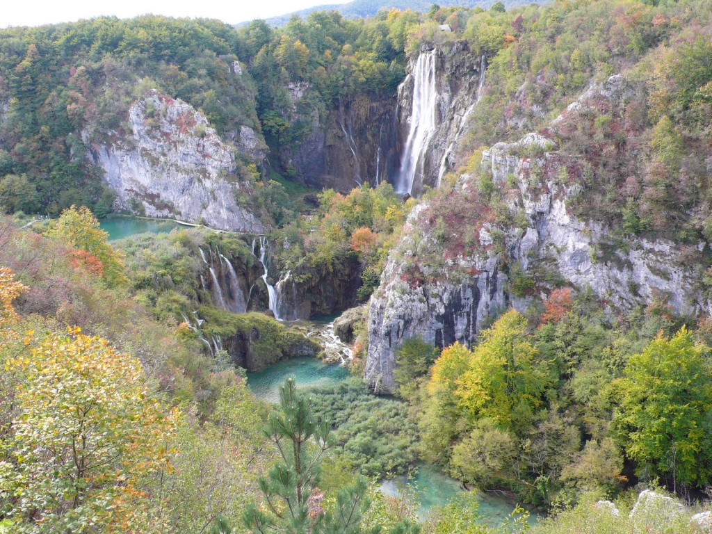 Croatia's wonderful Plitvice lakes - a science tour highlight