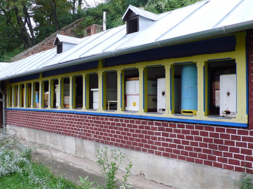 Gregor Mendel's original beehives