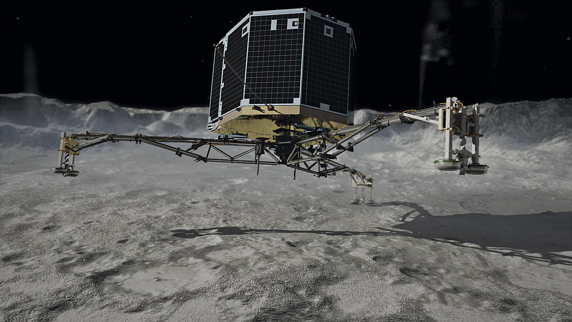 Renaming the comet lander