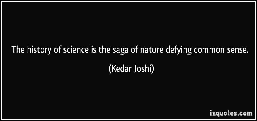 15. The uncommon sense of science.
