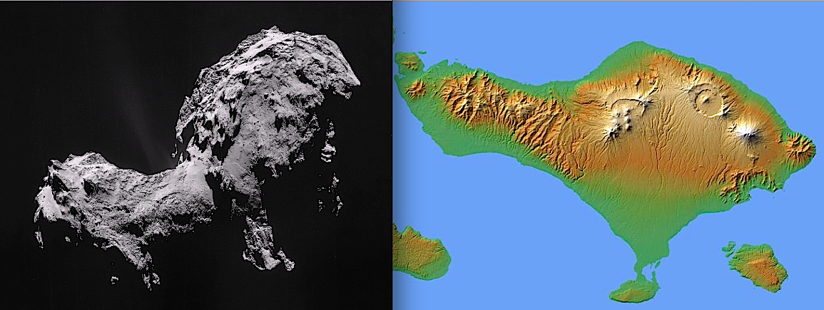 Rosetta and Bali: Coincidence or conspiracy?