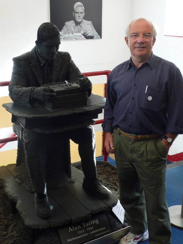 At Bletchley Park with Alan Turing
