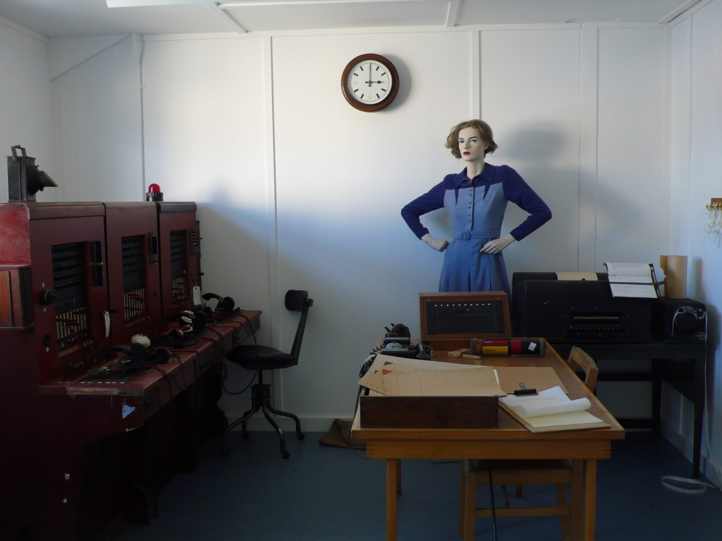 The Bletchley Park telephone exchange