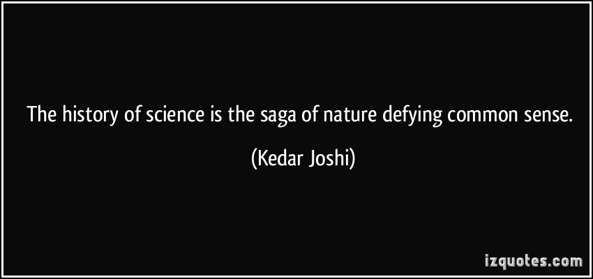 15. The uncommon sense of science.