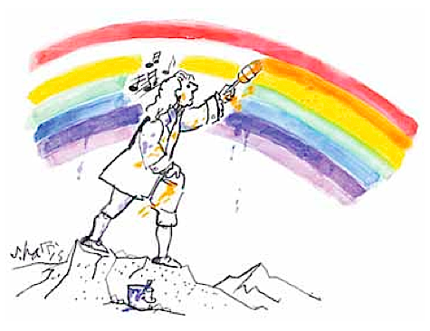 "My letter in ""Nature"": How music inspired Newton's rainbow"