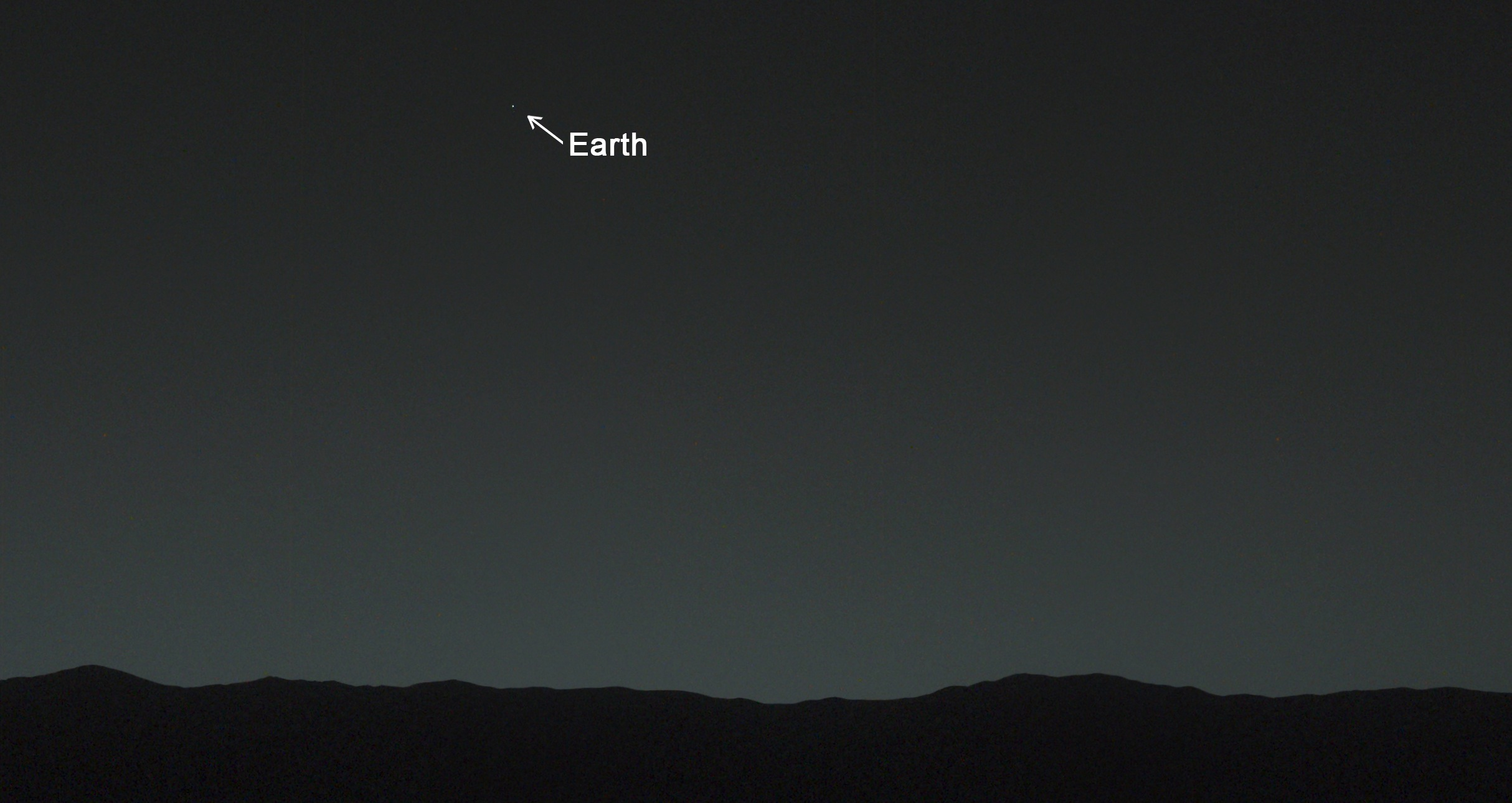 87. Earth viewed from Mars and the Total Perspective Vortex
